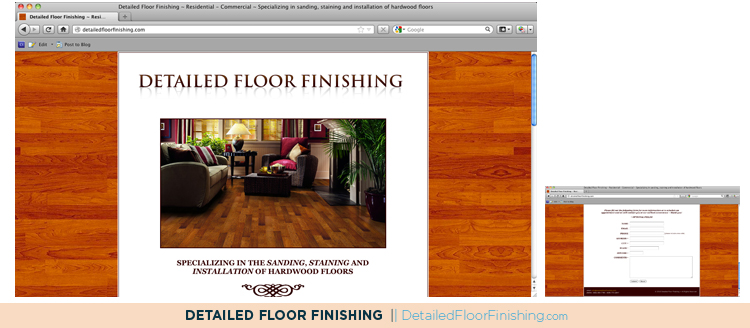 Detailed Floor Finishing